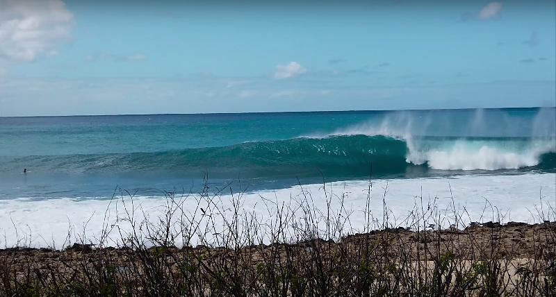Le paradis hawaiien de Benoît Carpentier,